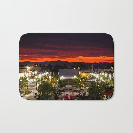 City scape /Medford OR Bath Mat