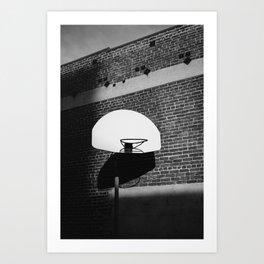 Los Angeles Basketball Art Print