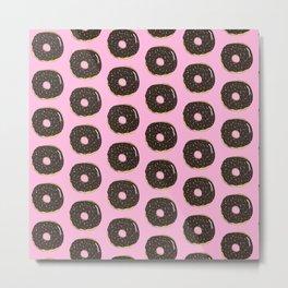 Donuts Before Bronuts Metal Print