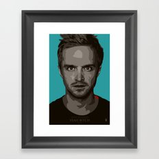Breaking Bad Jesse Framed Art Print
