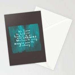 Hold Our Heads Stationery Cards