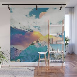 Dreaming Mountains Wall Mural