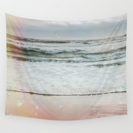 Beach Bubbles Wall Tapestry