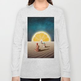 Desert Moonlight Meditation Long Sleeve T-shirt