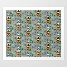 Totem-ro Art Print