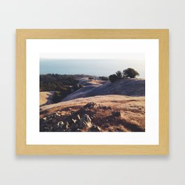 Mt. Tamalpais Framed Art Print