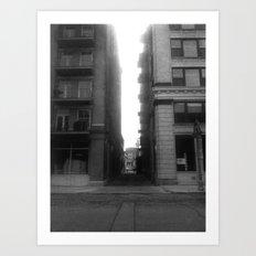 Street View #1 Art Print
