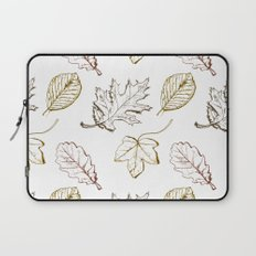 Leaves (browns) Laptop Sleeve