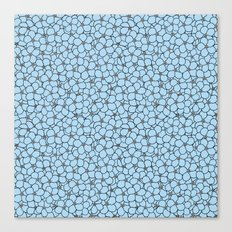 Forget Me Knot Sky Blue Canvas Print