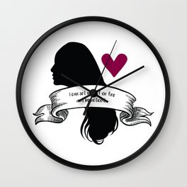 Kira Yukimura - How to be noticed. Wall Clock