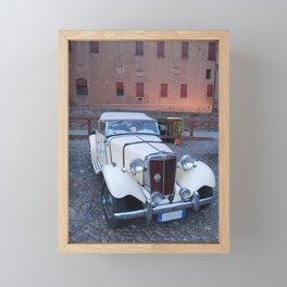MG CARS Framed Mini Art Print