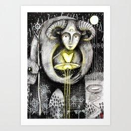 Return Of The Light Art Print