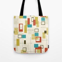 Mid Century Modern, Sputnik Pattern Tote Bag