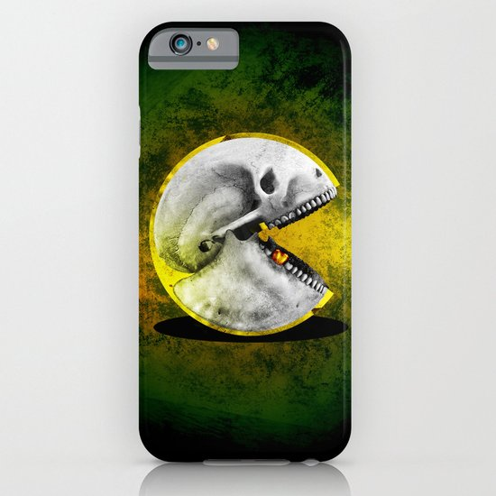 Skull Pacman iPhone & iPod Case