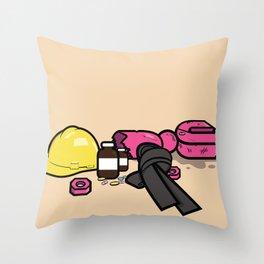Yoshimi Battles the Pink Robots Throw Pillow