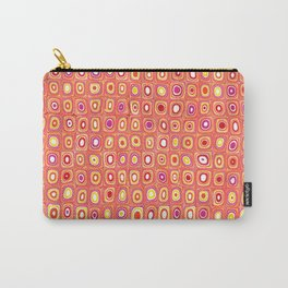 Aztec Red Pattern Carry-All Pouch