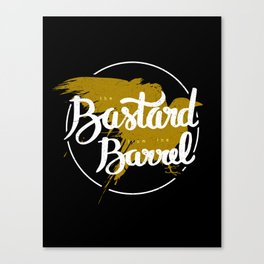 the bastard from the barrel Canvas Print
