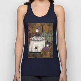 A Day in Autumn Unisex Tank Top