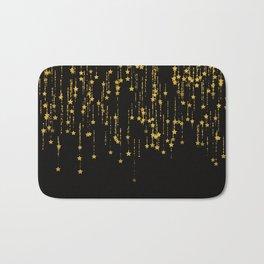 Golden Stars -Dream- Bath Mat