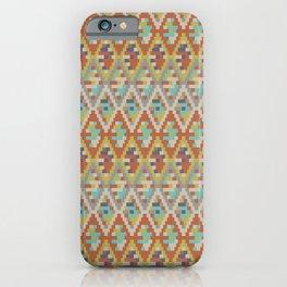High Desert Diamond Pattern iPhone Case