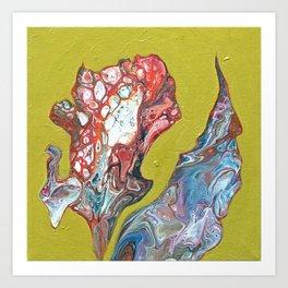 Colorful Fluid Art Art Print