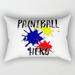 Paintball Hero Rectangular Pillow
