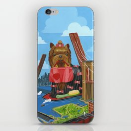 New Yorkie iPhone Skin