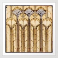 palms Art Prints featuring Palms by Steve W Schwartz Art