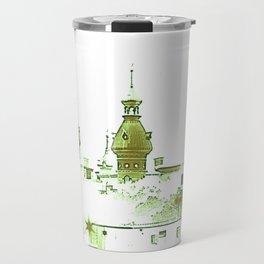 University of Tampa -- Green Travel Mug