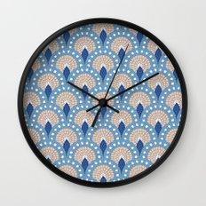 Parisian Tiles  Wall Clock