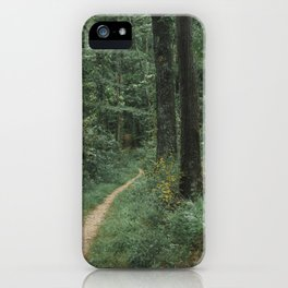 The Great Green Adventure iPhone Case