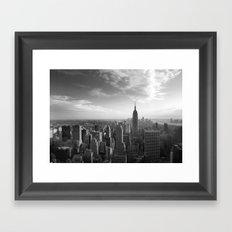 LandscapeNewYork Framed Art Print