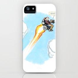Stephen Hawking - Whee! iPhone Case