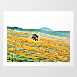 Flower's Tree Art Print