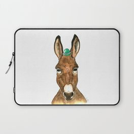 Ane au chapeau Laptop Sleeve