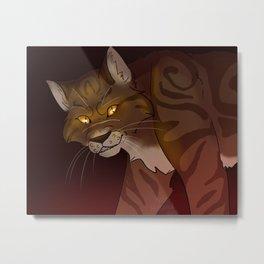 Tigerstar Metal Print