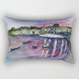 Luogo Mergellina, Napoli Rectangular Pillow