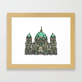 Berlin Cathedral Framed Art Print