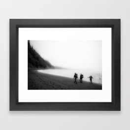 Lost Coast Framed Art Print