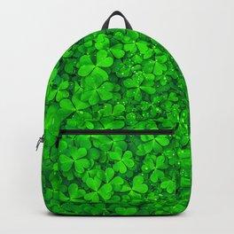 Clover Leaf Shamrocks Backpack