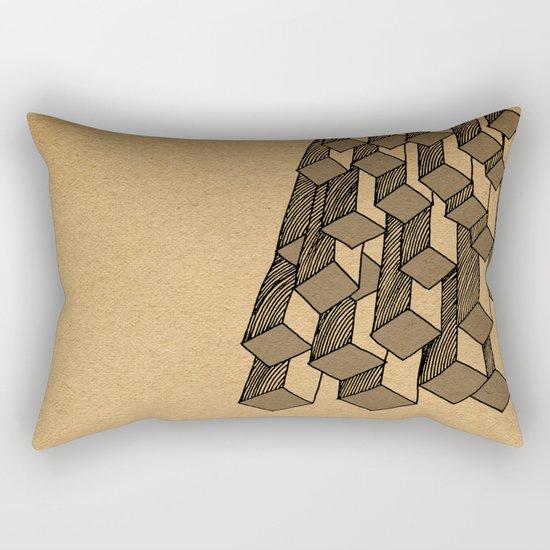 - cascade - Rectangular Pillow
