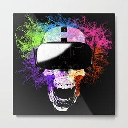 Virtual Joy Metal Print