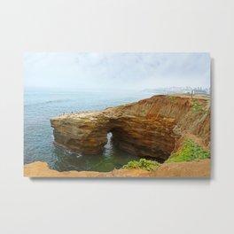 Sunset Cliffs Metal Print