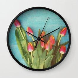 Informal Gathering Wall Clock