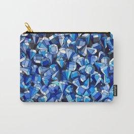 Fond Bleu Carry-All Pouch