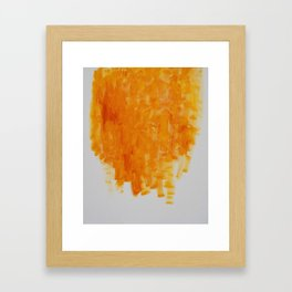 Buffalo Honey Framed Art Print