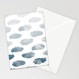 Cloudy Clouds Stationery Cards