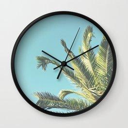 Summer Time II Wall Clock