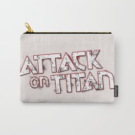 Attack on Titan Logo Carry-All Pouch