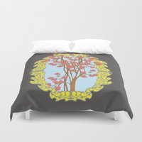 frame Duvet Covers featuring Frame  by nandita singh